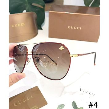 GUCCI 2019 new men and women models HD polarized sunglasses #4