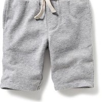French-Terry Knit Shorts