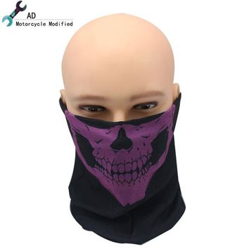 Motorcycle Skull Face Mask Bike Bicycle Outdoor Sports Balaclavas Scarf Birthday Present Skate Accessories Party halloween Parts
