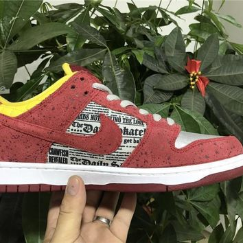 Nike Sb Dunk Low Prem Crayfish 504750 660 Size 36 45