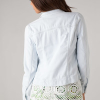 J Brand 4010 Classic Jacket in Baby Blue