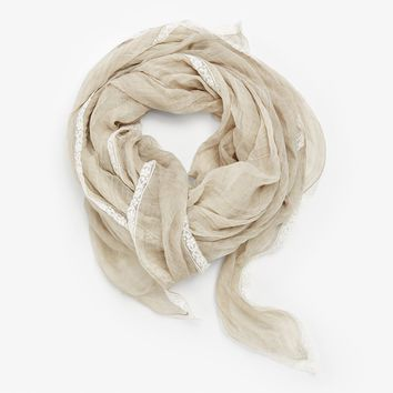 Faliero Sarti Bianchina Scarf Natural – ABC Carpet & Home